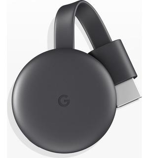 Chrome Cast 3ra Gen Wifi 5ghz Chomecast 1080p C/fuente