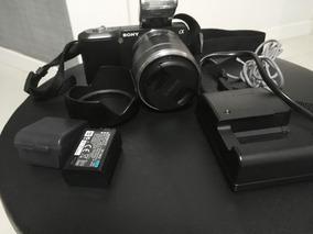 Câmera Fotográfica Semi Profissional Sony Nex 3 (15000 Clic)