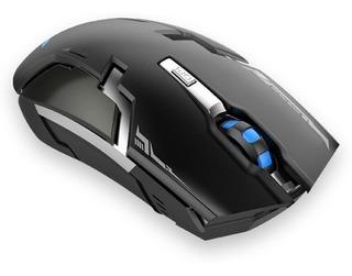 Mouse Gaming Naceb Technology Na-631, Rf Inalámbrico, Negro
