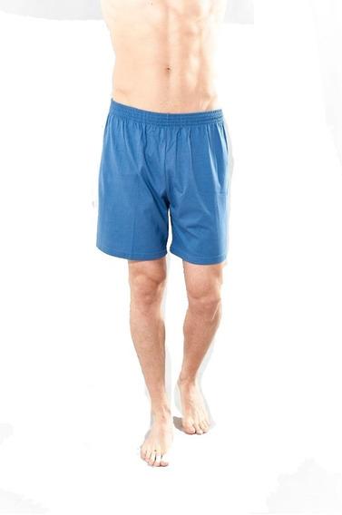 Pantalón Pijama Bermuda Liso Puro Algodón Talles S/l Primus
