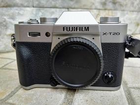 Camera Fuji X-t20 (corpo) Video 4k, 24,3 Megapixels
