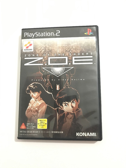 Zone Of The Enders - Original Jp Completo
