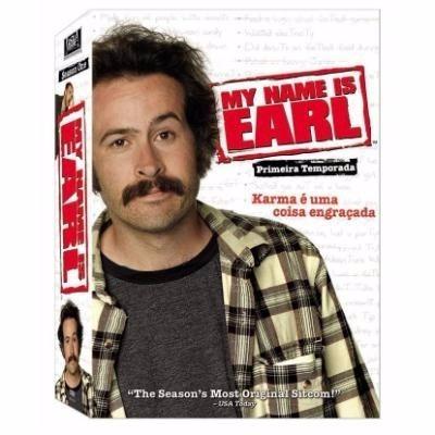 Box My Name Is Earl 1ª Temporada 4 Dvds Lacrados