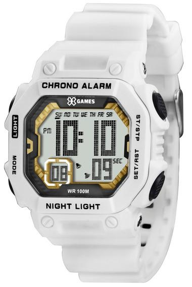 Relógio X-games Digital Xkppd007 Bxpx Branco