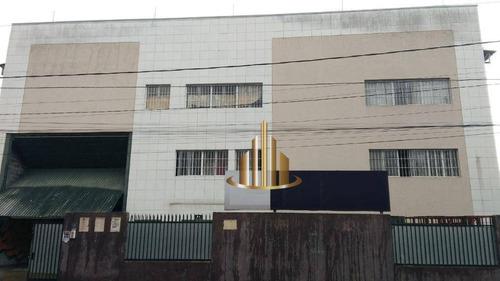 Galpão Para Alugar, 749 M² Por R$ 9.200,00/mês - Santana De Parnaíba - Santana De Parnaíba/sp - Ga0233