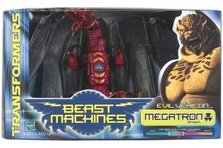 Transformers Beast Machines Megatron (2000) Muy Raro