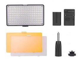 Iluminador De Led Tl-160s - 160 Leds C/ Suporte De Mão Filt