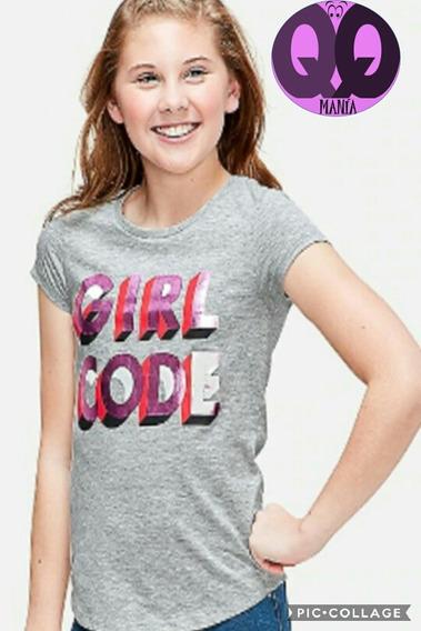 Franela Justice Girl Code
