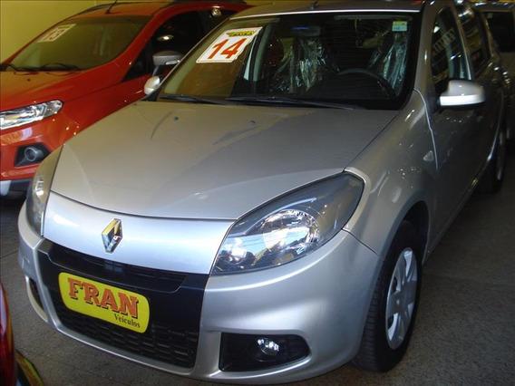 Renault Sandero Expression Motor 1.6 2014 Prata