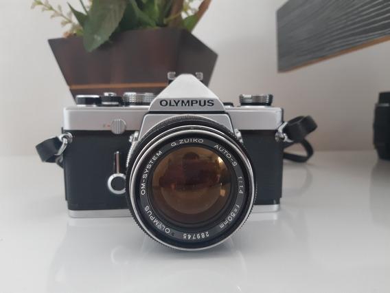 Olimpus Om 1 Lente 50mm 1.4