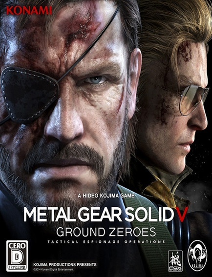 Metal Gear Solid V Ground Zeroes - Pc Steam Key