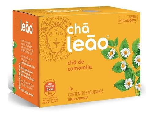 Imagem 1 de 1 de Chá Leão Ervas - Camomila - 10 Sachês
