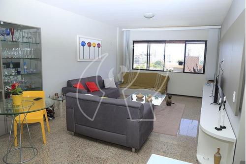 Apartamento Com 3 Dormitórios À Venda, 138 M² Por R$ 550.000,00 - Dionisio Torres - Fortaleza/ce - Ap2243