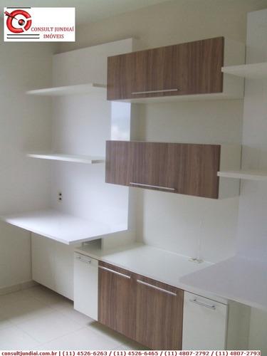Imagem 1 de 20 de Apartamentos À Venda  Em Jundiaí/sp - Compre O Seu Apartamentos Aqui! - 1249233