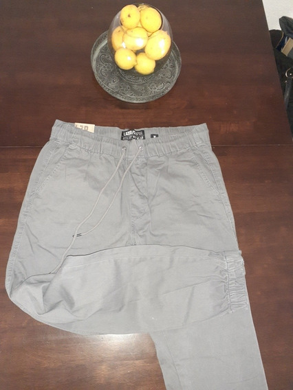 Pantalon Hombre Adolescente Elástico