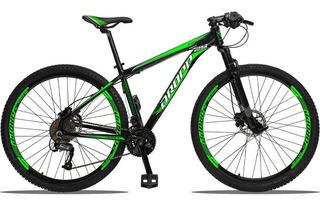 Bicicleta Aro 29 Quadro 15 Alumínio 27v Câmbio Shimano Altus