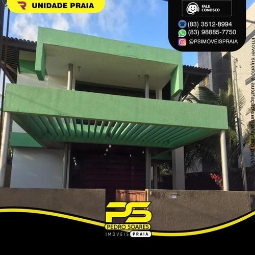 Imagem 1 de 5 de Casa Com 5 Dormitórios À Venda Por R$ 1.200.000 - Jardim Jerico - Cabedelo/pb - Ca0982