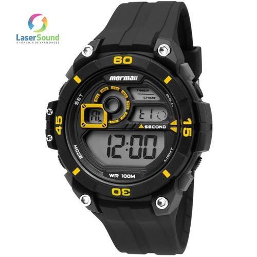 Relógio Masculino Mormaii Mo2019/8y, C/ Garantia E Nf