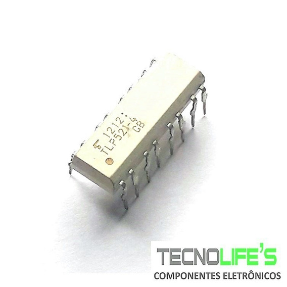 Ci Tlp521-4 Optoacoplador Fotransistor 4 Canais 521 Pdip-16