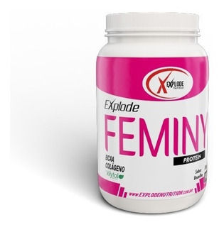Whey Protein Femmy - Pote 900g C/xilytol, Bcaa E Colágeno H