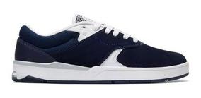 Tenis Dc Shoes Tiago S Imp Navy/white Original Frete Gratis
