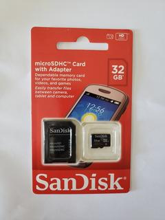 Kit Com 4 Cartões De Memória Micro Sd 32gb