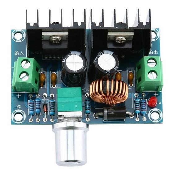 Modulo Fuente Step Down Xl4016 1.25-36v Dc 8a Potenciometro
