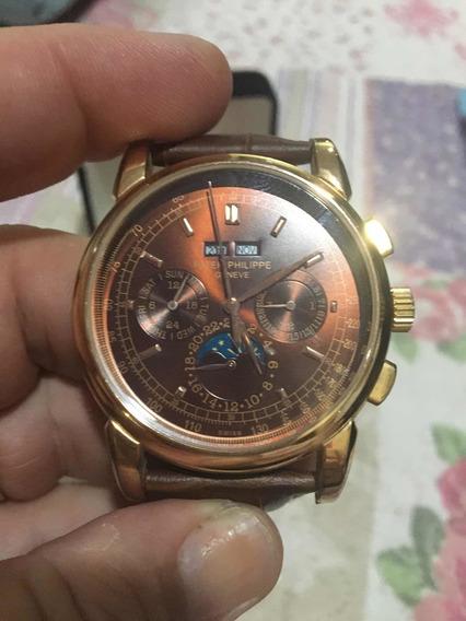 Relógio Patek Philippe Automático Máquina Suíça