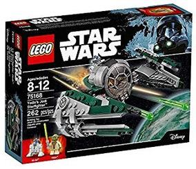 Lego Star Wars, Juguete De Yoda Jedi Con Un Starfighter 7516