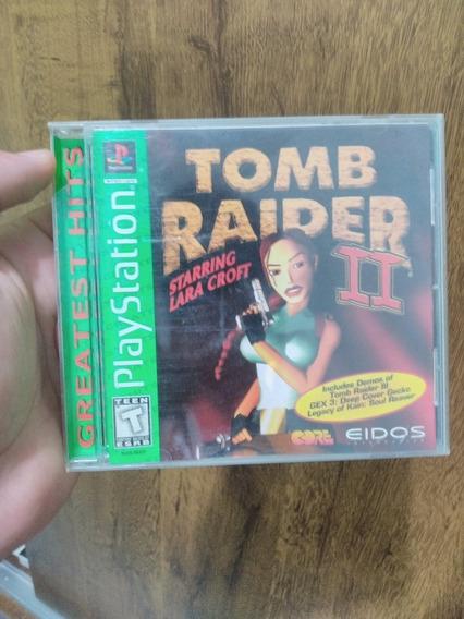 Tomb Raider 2 Original Psone