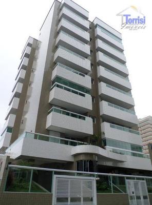 Apartamento Em Praia Grande, 02 Dormitórios Sendo 01 Suite, Sacada Gourmet, Salão De Festas Na Guilhermina Ap1661 - Ap1661