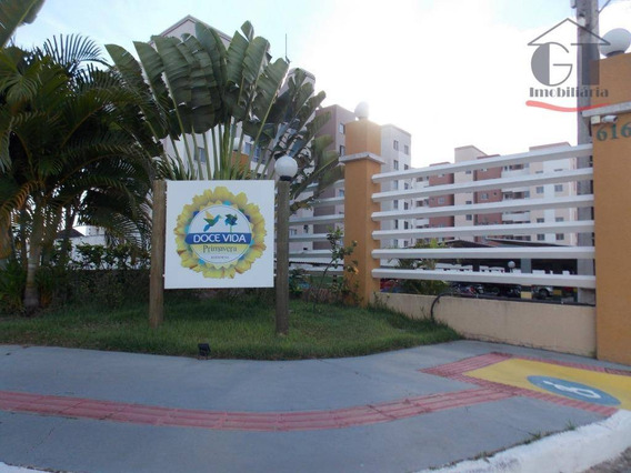 Apartamento Com 2 Dormitórios Para Alugar, 52 M² Por R$ 550,00/mês - Centro - São Cristóvão/se - Ap0298