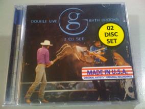 Garth Brooks Double Live Cd Duplo Lacrado Fabrica Usa Import