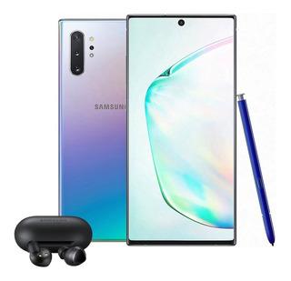 Celular Samsung Galaxy Note 10+ Plus 256gb 12gb + Stylus + Buds Nuevo Nacional Garantia Samsung
