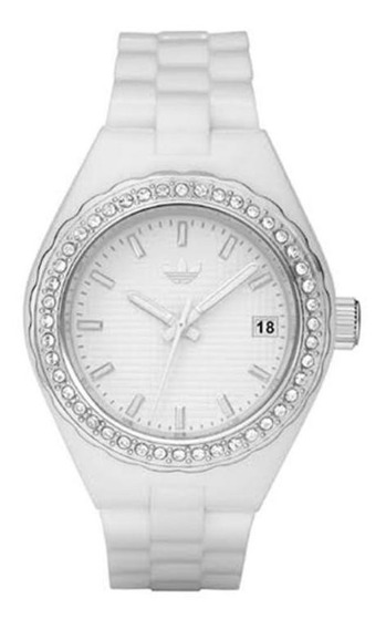 Relógio adidas Feminino Fashion Branco De Borracha Adh2126