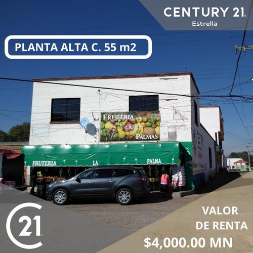 Imagen 1 de 8 de Se Renta Local En Planta Alta