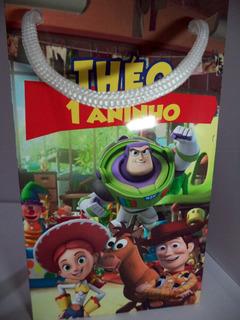 50 Sacolinha Surpresa Personalizada Lembrancinha Toy Story