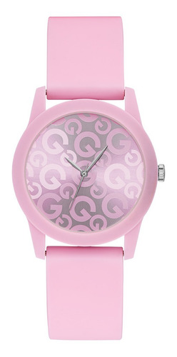Reloj Para Dama G By Guess Mini G Craze G49010l2 Rosa