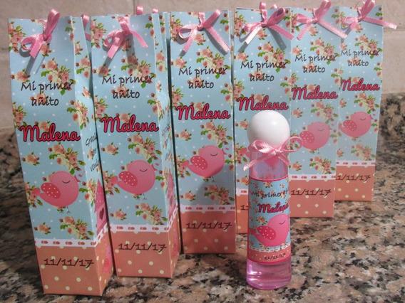 Perfumes Personalizados Souvenirs C/cajita Papel Fotog. X30u