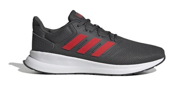 Zapatillas adidas Running Hombre Runfalcon Gris-rojo Ras
