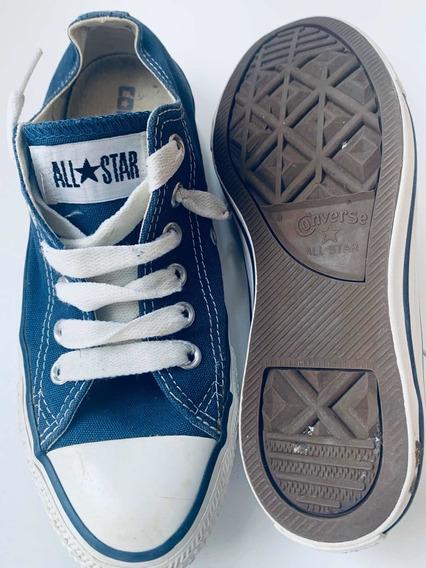 Zapatillas All Star Converse Unisex Mujer Varón Azul Marino