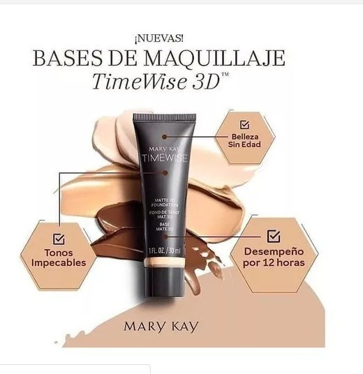 Base Demaquillaje Time Wise 3d Mary Kay