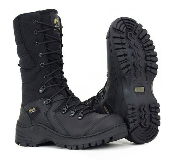 Coturno Militar Tático Airstep Ref: 8995-1 Black