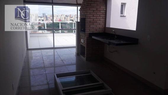 Cobertura Com 2 Dormitórios À Venda, 53 M² Por R$ 395.000 - Vila Curuçá - Santo André/sp - Co4313