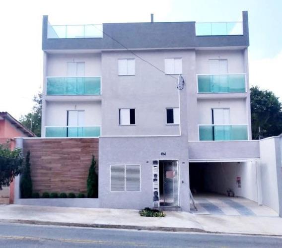 Cobertura À Venda, 110 M² Por R$ 329.000,00 - Vila Guiomar - Santo André/sp - Co0691