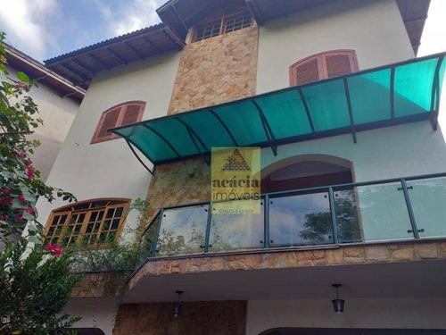 Imagem 1 de 24 de Sobrado Com 4 Dormitórios À Venda, 600 M² Por R$ 2.600.000,00 - City América - São Paulo/sp - So2524