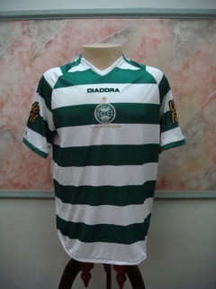 Camisa Futebol Coritiba Pr Diadora 98 Anos Jogo 2362
