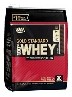 100% Whey Gold Standard 6lbs (2,9kg) - Optimum