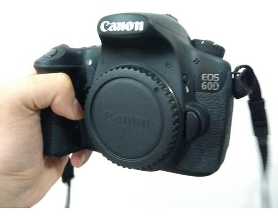 Canon 60d + Lente 18-200mm + Mochila E Assessórios