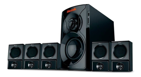 Home Theater 5.1 Bluetooth 125w Super Bass Vm-x5163 Infokit